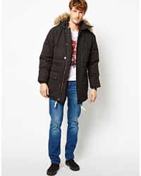 French Connection - Coat Polar Wadded Antartica - Lyst