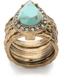Samantha Wills - Poolside Ring - Gold/blue - Lyst