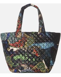 MZ Wallace Medium Metro Tote Butterfly Print Oxford - Lyst