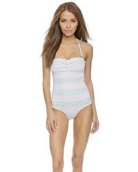 Tori Praver Swimwear Lucy One Piece - Marrakesh Seashell - Lyst