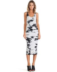 Enza Costa Rib Tank Dress - Lyst