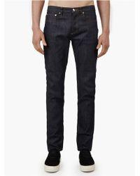 A.P.C. Men'S Indigo Petit Standard Stretch Jeans blue - Lyst