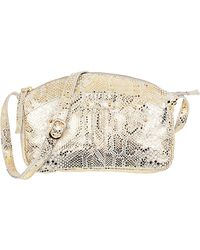 Petite Mendigote Leather Bag - Othis Snake - Lyst