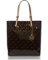 Michael Kors Metallic Tote Bag - Lyst