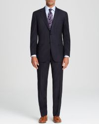Canali Siena Stripe Travel Suit  Classic Fit - Lyst
