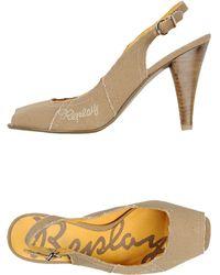 Replay Sandals khaki - Lyst