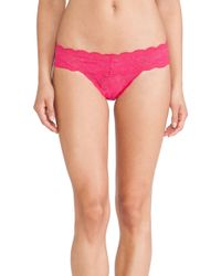 Cosabella Never Say Never Cutie Thong - Lyst