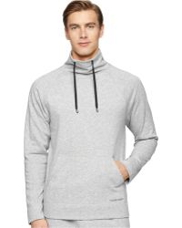 Calvin Klein Men'S Soft Lounge Pullover Top gray - Lyst