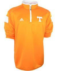 Adidas Mens Tennessee Volunteers Quarter-zip Jacket - Lyst