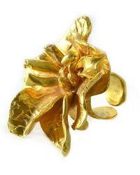 Gabriela Ramirez Michel Flower In Love Ring. - Lyst