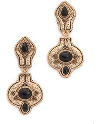 Samantha Wills - The Villa Grand Earrings - Antique Gold Multi - Lyst