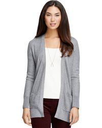 Brooks Brothers Silk and Cashmere Long Cardigan - Lyst