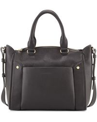 See By Chloé Keren Small Leather Satchel Bag Black - Lyst