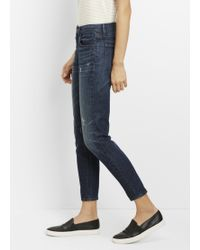 Vince | Mason Relaxed Rolled Jean | Lyst