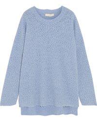 Vanessa Bruno Colvert Textured Wool-Blend Sweater - Lyst
