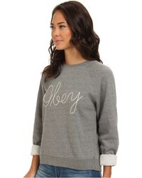 Obey Demeter Crew Neck Fleece - Lyst