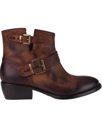 Daino Shoes | Leather Ankle Boots | Lyst