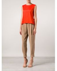 Brunello Cucinelli Loose Fit Trousers - Lyst