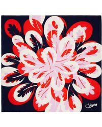 Diane von Furstenberg Petal Breeze Silk Twill Square Scarf - Lyst