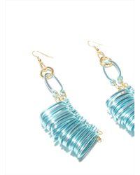 Kirsty Ward - Alu Loops Earrings - Lyst