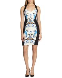 Sachin & Babi Alya Neoprene Vback Dress - Lyst