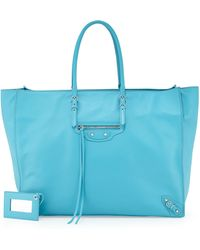 Balenciaga Papier A4 Office Tote Bag - Lyst