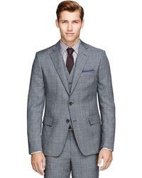 Brooks Brothers Regent Fit Threepiece Sharkskin Suit - Lyst
