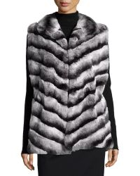 Gorski - Rabbit-fur Stand-collar Jacket - Lyst