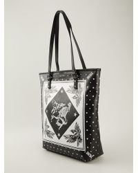 Diesel Printed Shopper Bag - Lyst