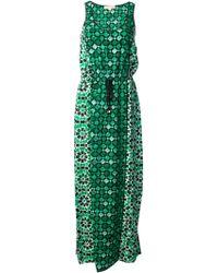 MICHAEL Michael Kors Patterned Print Dress - Lyst