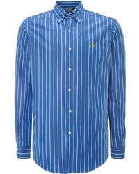 Polo Ralph Lauren Long Sleeve Poplin Shirt - Lyst