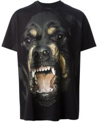 Givenchy Fierce Dog Tshirt - Lyst