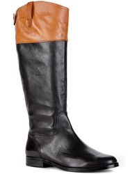 Lauren by Ralph Lauren Jenessa Riding Boots black - Lyst