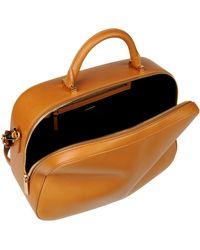 The Row Medium Leather Bag - Lyst