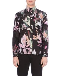Paul Smith Floral-Print Tailored Shirt - For Men - Lyst