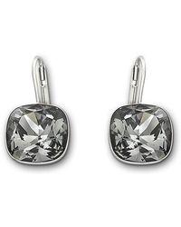 Swarovski Sheena Silvernight Crystal Earrings - Lyst