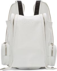 Hood By Air - White Mini Double_Zip Backpack - Lyst
