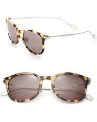Gucci Acetate Square Sunglasses brown - Lyst