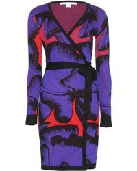 Diane von Furstenberg Leandra Wrap Dress - Lyst