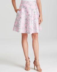 Cynthia Rowley | Bonded Flare Skirt | Lyst
