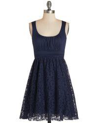 Mai Tai Artisan Iced Tea Dress In Blueberry - Lyst