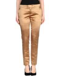 RED Valentino Casual Trouser khaki - Lyst