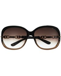 Jimmy Choo Chain Detail Sunglasses - Lyst