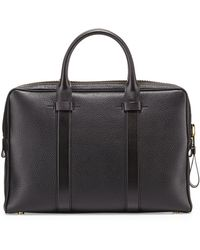 Tom Ford Buckley Leather Briefcase - Lyst