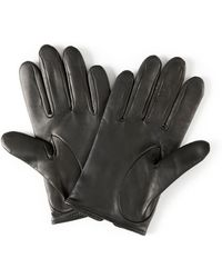 Jaeger - Cropped Leather Gloves - Lyst