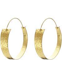Whistles Exclusive Made Livati Hoop Earrings - Lyst