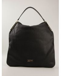Class Roberto Cavalli Camille Perforated Tote Bag - Lyst