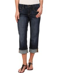 Lucky Brand Easy Rider Crop In Agate - Lyst