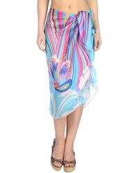 Miss Naory Sarong blue - Lyst