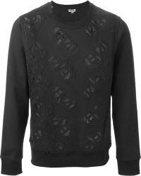 Kenzo 'Flying ' Sweatshirt black - Lyst
